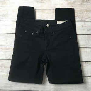 rag & bone Jeans - RAG & BONE | basic black skinny jeans 26